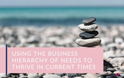 Using The Business Hierarchy Of Needs To Thrive In Current Times